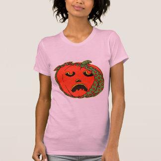 Retro Vintage Kitsch Halloween Pumpkin Toothache Shirt