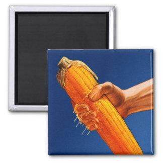 Retro Vintage Kitsch High Fructose Corn Syrup Cob Fridge Magnet