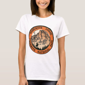 Retro Vintage Kitsch Hotel Yosemite Lodge Tag T-Shirt