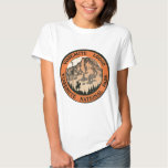 Retro Vintage Kitsch Hotel Yosemite Lodge Tag Tee Shirt