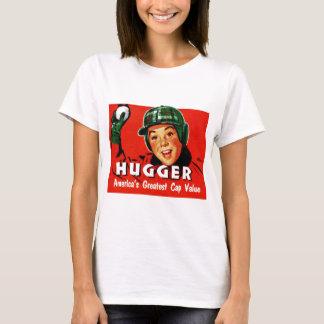 Retro Vintage Kitsch Hugger Americas Greatest Cap T-Shirt