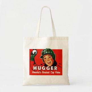 Retro Vintage Kitsch Hugger Americas Greatest Cap Tote Bag