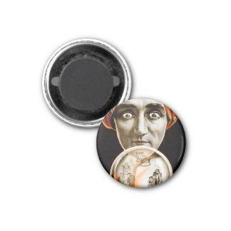 Retro Vintage Kitsch Hypnotist Alexander Seer Magnet