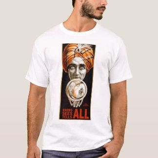 Retro Vintage Kitsch Hypnotist Alexander Seer T-Shirt