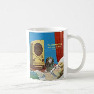 Retro Vintage Kitsch Hypnotize Hypnotone Machine Coffee Mug
