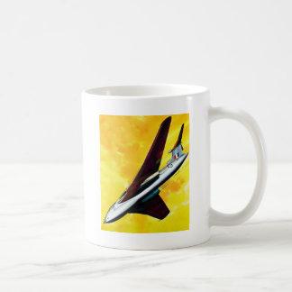 Retro Vintage Kitsch Jet Plane Handley Page Victor Coffee Mug