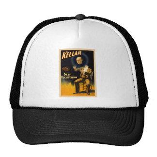 Retro Vintage Kitsch Magic Self Decapitation Mesh Hats