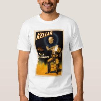 Retro Vintage Kitsch Magic Self Decapitation T-shirt