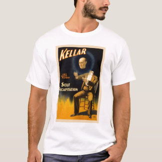 Retro Vintage Kitsch Magic Self Decapitation T-Shirt