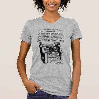 Retro Vintage Kitsch Magic Trick The Spider Girl T-Shirt