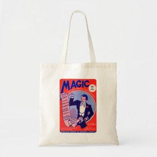 Retro Vintage Kitsch Magician Magic Tricks Deck Tote Bag
