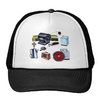 Retro Vintage Kitsch Modern Appliances Trucker Hat