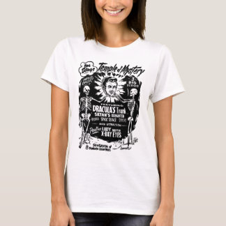 Retro Vintage Kitsch Monster Temple of Mystery T-Shirt