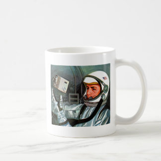 Retro Vintage Kitsch NASA Astronaut Super 8 Camera Coffee Mug