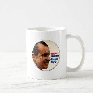 Retro Vintage Kitsch Nixon Now More Then Ever Coffee Mug