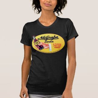 Retro Vintage Kitsch NuGrape Grape Soda Pop Sign T-Shirt