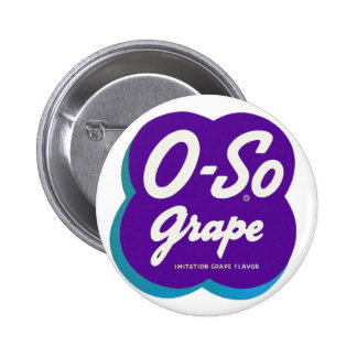 Retro Vintage Kitsch O-So Oso Soda Pop Logo Button