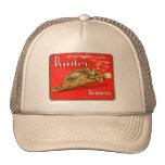 Retro Vintage Kitsch Panther Cigars Dutch Tin Box Trucker Hat