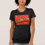 Retro Vintage Kitsch Panther Cigars Dutch Tin Box Tee Shirt
