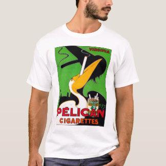 Retro Vintage Kitsch Pelican Brand Cigarettes T-Shirt