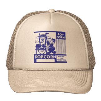 Retro Vintage Kitsch Popcorn Box Popped Perfection Trucker Hat