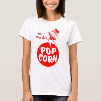Retro Vintage Kitsch Popcorn Mr. Dee-Lish Bag Art T-Shirt
