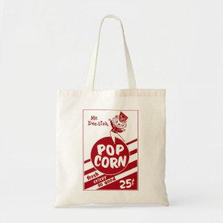 Retro Vintage Kitsch Popcorn Mr. Dee-lish Tote Bag