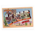 Retro Vintage Kitsch Postcard Las Vegas Nevada