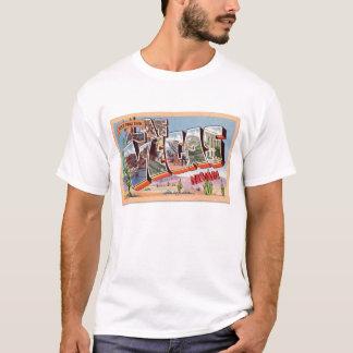 Retro Vintage Kitsch Postcard Las Vegas Nevada T-Shirt