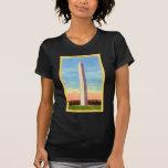 Retro Vintage Kitsch Postcard Washington Monument Shirts