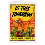 Retro Vintage Kitsch Propoganda Communism! Cards