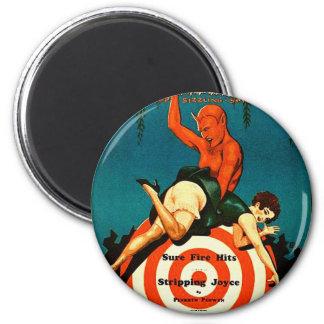 Retro Vintage Kitsch Pulp Hot Stories Magazine Magnet