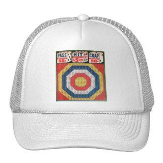 Retro Vintage Kitsch Punch Board Gamble Pass Hit Trucker Hat