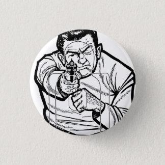 Retro Vintage Kitsch Punk Shooting Range Target Pinback Button
