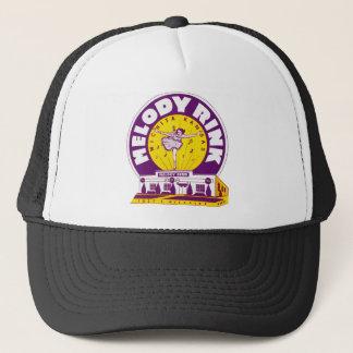 Retro Vintage Kitsch Rollerskating 'Melody Rink' Trucker Hat