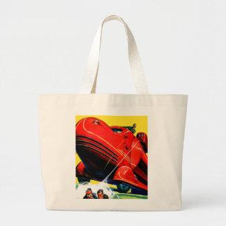 Retro Vintage Kitsch Sci Fi 30s Riot Control Bags