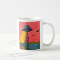 Retro Vintage Kitsch Sci Fi Canals of Mars
