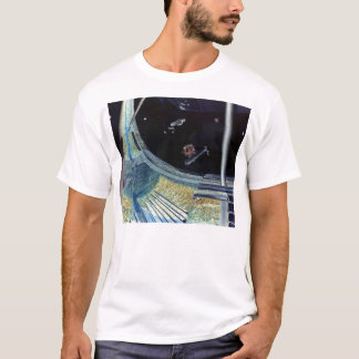 Retro Vintage Kitsch Sci Fi Future Space Colonies T-Shirt