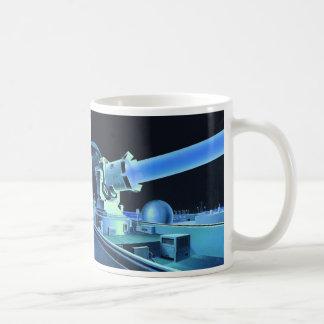 Retro Vintage Kitsch Sci Fi Killer Laser Beam Coffee Mug