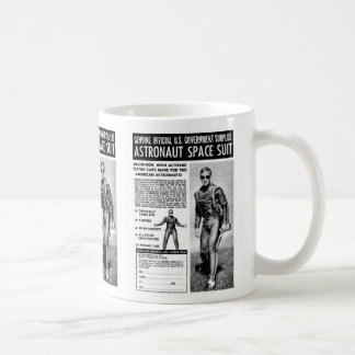 Retro Vintage Kitsch Sci Fi Own a Astronaut Suit Coffee Mug