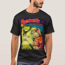 Retro Vintage Kitsch Sci Fi Pulp Fantastic Mag T-Shirt