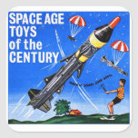 Retro Vintage Kitsch Sci Fi Space Age Toys Mach-X Stickers