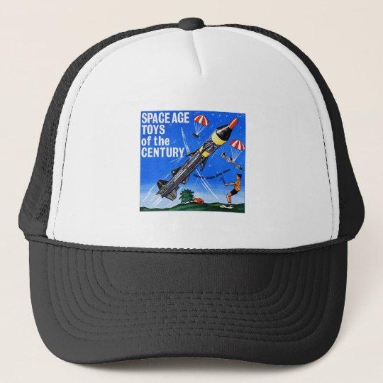 Retro Vintage Kitsch Sci Fi Space Age Toys Mach-X Trucker Hat