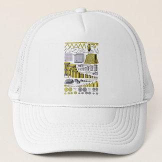 Retro Vintage Kitsch Science Metric System Chart Trucker Hat