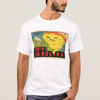 Retro Vintage Kitsch South Carolina Palmetto Decal T-Shirt