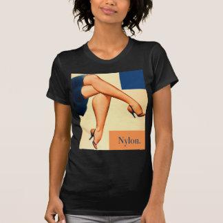 Retro Vintage Kitsch Stockings Nylons Nylon Art T-Shirt