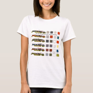 Retro Vintage Kitsch Suburbs Approved House Colors T-Shirt