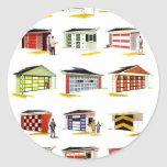 Retro Vintage Kitsch Sunurbs Garage Door Options Stickers