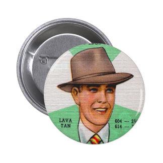 Retro Vintage Kitsch Swann Mens Hats Fedora Pin