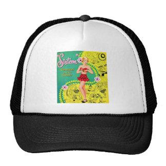 Retro Vintage Kitsch Teen Girl Sweet Sixteen Book Trucker Hat